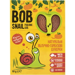 Конфеты детские натуральные Bob Snail (Боб Снеил) Улитка Боб яблочно-тыквенные 60г