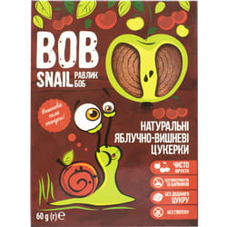 Конфеты детские натуральные Bob Snail (Боб Снеил) Улитка Боб яблочно-вишневые 60г