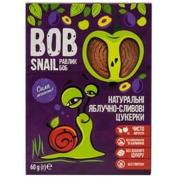 Конфеты детские натуральные Bob Snail (Боб Снеил) Улитка Боб яблочно-сливовые 60г