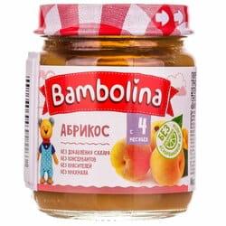 Пюре фруктовое детское BAMBOLINA (Бамболина) Абрикос с 4-ти месяцев 100 г