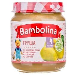 Пюре фруктовое детское BAMBOLINA (Бамболина) Груша с 4-ти месяцев 100 г