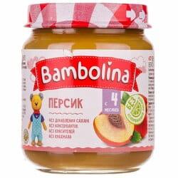 Пюре фруктовое детское BAMBOLINA (Бамболина) Персик с 4-ти месяцев 100 г
