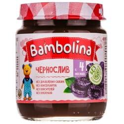 Пюре фруктовое детское BAMBOLINA (Бамболина) Чернослив с 4-ти месяцев 100 г