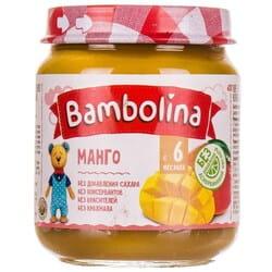 Пюре фруктовое детское BAMBOLINA (Бамболина) Манго с 6-ти месяцев 100 г