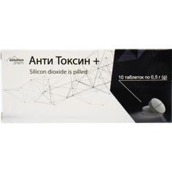 Анти Токсин+ табл. 500мг №10 Solution Pharm