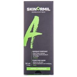 Маска для лица SKINORMIL (Скинормил) Линия А очищающая для жирной проблемной кожи 50 мл