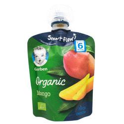 Пюре фруктовое детское NESTLE GERBER (Нестле Гербер) Organic (Органическое) Манго с 6-ти месяцев мягкая упаковка 90 г