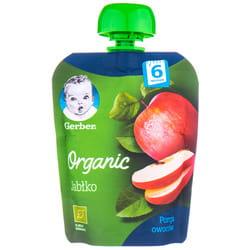 Пюре фруктовое детское NESTLE GERBER (Нестле Гербер) Organic (Органическое) Яблоко с 6-ти месяцев мягкая упаковка 90 г