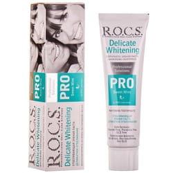 Зубная паста R.O.C.S. (Рокс) Pro Sweet Mint Деликатное отбеливание 135 г