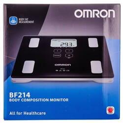 Монитор состава тела Omron (Омрон) модель BF-214 (НBF-214-EBW)