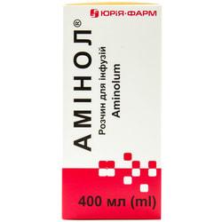 Аминол р-р д/инф. бут. 400мл