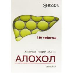 Аллохол табл. п/о конт. №180