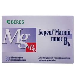 Береш Магний плюс В6 табл. п/о №30