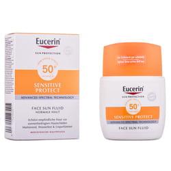 Флюид для лица EUCERIN (Юцерин) солнцезащитный матирующий для чувствительной кожи SPF50+ 50 мл