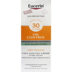 Гель-крем для лица EUCERIN (Юцерин) солнцезащитный матирующий SPF30  50 мл