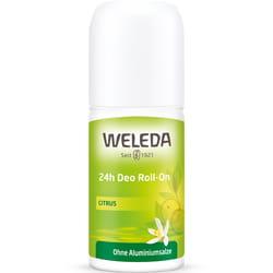 Дезодорант WELEDA (Веледа) для тела Цитрус Roll-On 24 часа эффективная натуральная защита от запаха пота 50 мл