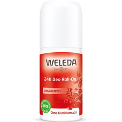 Дезодорант для тела WELEDA (Веледа) Гранат Roll-On 24 часа эффективная натуральная защита от запаха пота 50 мл