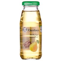Сок фруктовый детский NESTLE GERBER (Нестле Гербер) Грушевый 175г