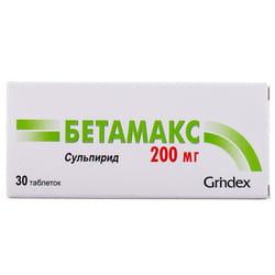 Бетамакс табл. 200мг №30