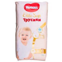 Подгузники-трусики для детей HUGGIES (Хаггис) Elite Soft (Элит софт) 4 от 9 до 14 кг 42 шт