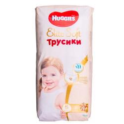 Подгузники-трусики для детей HUGGIES (Хаггис) Elite Soft (Элит софт) 5 от 12 до 17 кг 38 шт