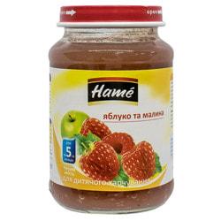 Пюре фруктовое детское HAME (Хаме) Малина 190 г