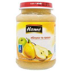 Пюре фруктовое детское HAME (Хаме) Груша 190 г
