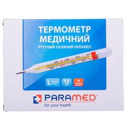 Термометр ртутный медицинский стеклянный Paramed 1 шт