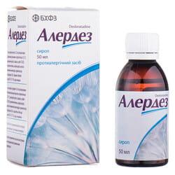 Алердез сироп 0,5мг/мл фл. 50мл