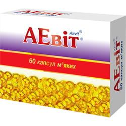 АЕвит (витамины А+Е) капс. мягкие №60