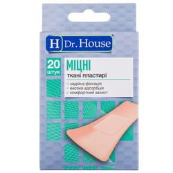 Пластырь бактерицидный Dr. House (Доктор Хаус) набор Крепкие размер 7,2 см x 2,3 см 20 шт