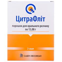 ЦитраФлит пор. д/орал. р-ра 15,08г пакет-саше №2