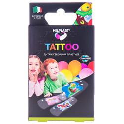 Пластырь бактерицидный MILPLAST (Милпласт) Kids Tattoo (Кидс Тату) стерильный детские с имитацией тату 16 шт