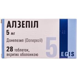 Алзепил табл. 5мг №28