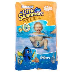 Подгузники-трусики для детей HUGGIES (Хаггис) Little Swimmer для плавания размер 5-6 (12-18кг) 11 шт