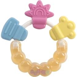 Погремушка-прорезыватель детская BABY TEAM (Беби Тим) артикул 8410 Цветочек
