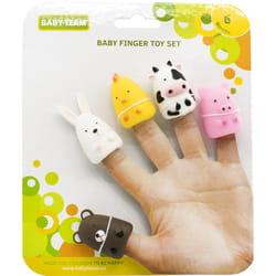 Набор игрушек на пальцы детский BABY TEAM (Беби Тим) артикул 8700 Веселые малыши