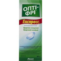 Опти-фри экспресс раствор для линз многоцелевой 355 мл с контейнером