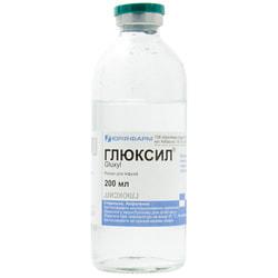 Глюксил р-р д/инф. бут. 200мл