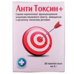 Анти Токсин+ пор. 2г пакет-саше №20