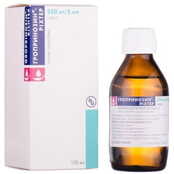Гропринозин-Рихтер сироп 250мг/5мл фл. 150мл