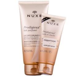 Набор NUXE (Нюкс) Молочко чудесное для тела 200 мл + Масло чудесное для душа 100 мл