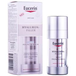 Пилинг и сыворотка для лица EUCERIN (Юцерин) Hyaluron-Filler (Гиалурон филлер) Ночной уход 30 мл