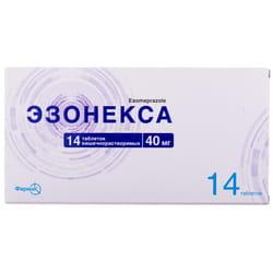 Эзонекса табл. кишечнораст. 40мг №14