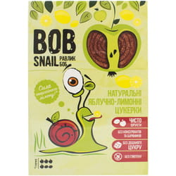 Конфеты детские натуральные Bob Snail (Боб Снеил) Улитка Боб яблочно-лимонные 60 г