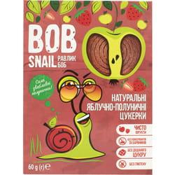 Конфеты детские натуральные Bob Snail (Боб Снеил) Улитка Боб яблочно-клубничные 60 г