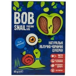 Конфеты детские натуральные Bob Snail (Боб Снеил) Улитка Боб яблочно-черничные 60 г