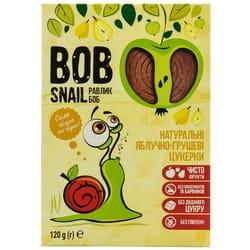 Конфеты детские натуральные Bob Snail (Боб Снеил) Улитка Боб яблочно-грушевые 120 г