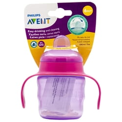 Чашка-непроливайка AVENT (Авент) артикул SCF551/03 с мягким носиком от 6 месяцев розовая 200 мл