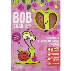Конфеты детские натуральные Bob Snail (Боб Снеил) Улитка Боб яблочно-малиновые 120 г